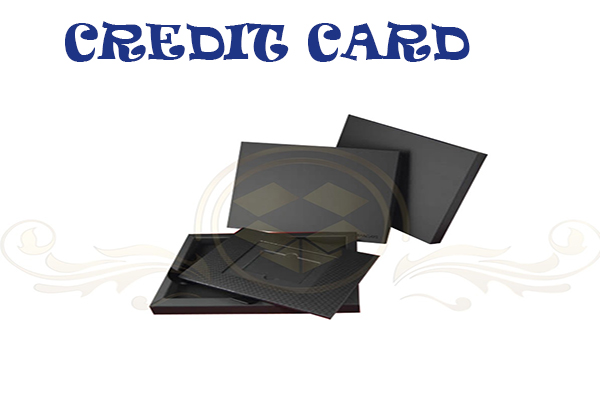 credit card boxes